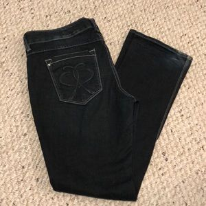 Express Jeans - Express Barely Boot Dark Jean